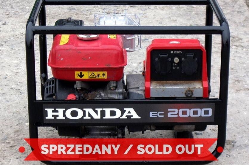 Agregat 01 Honda EC2000
