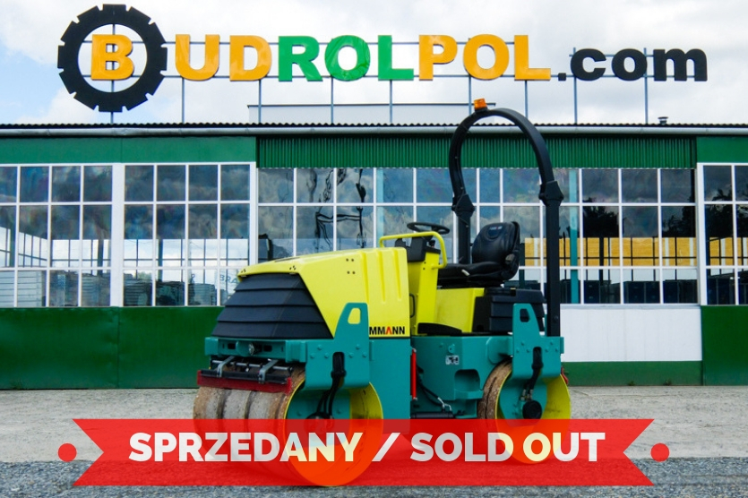 AMMANN AV26-2 single drum compactor, 2700 kg