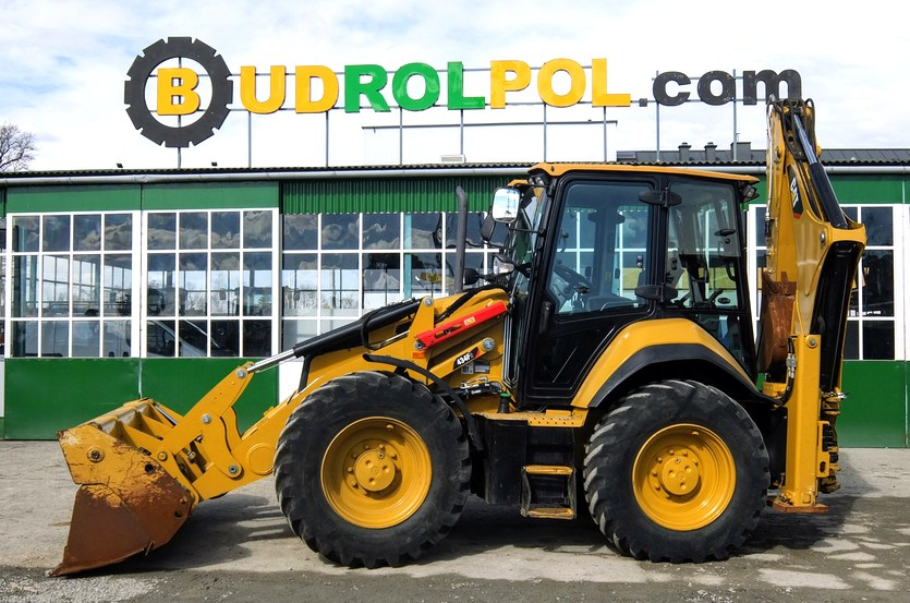 Caterpillar 434F2 backhoe loader