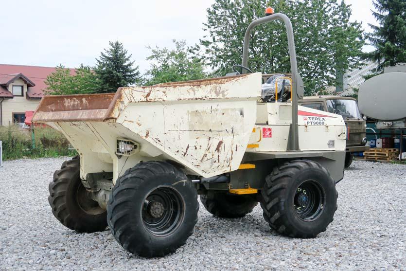 Wozidło przegubowe TEREX PT 9000, 9 ton