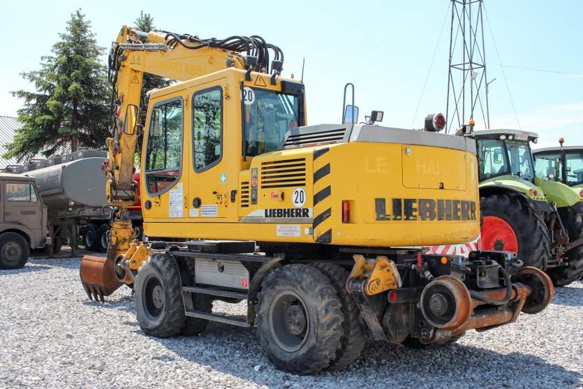 Liebherr A900c Zw Lithronic Rail Excavator