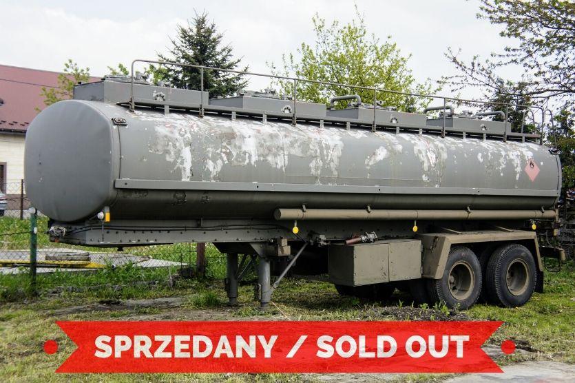 Tankwagen für Heizöl und Diesel 25 000 l