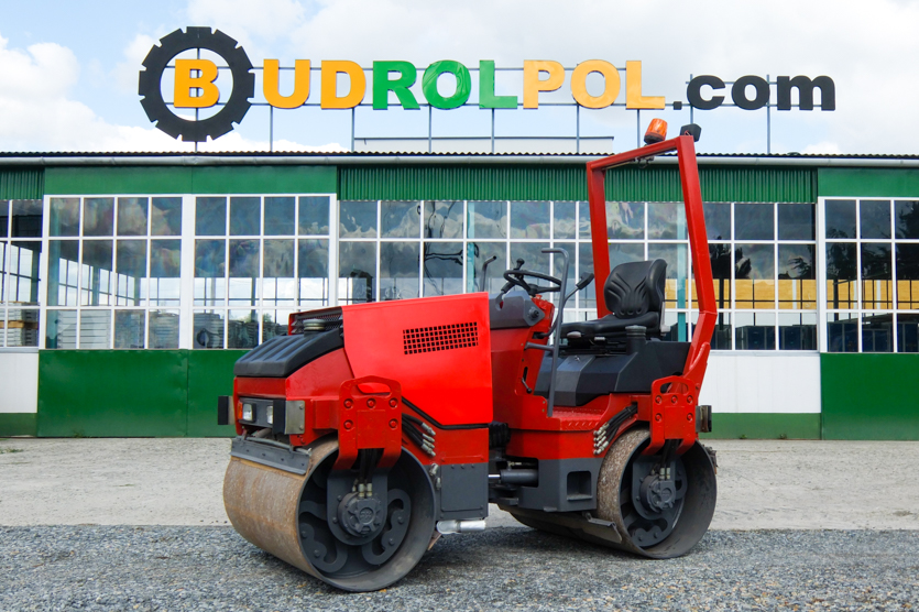 HAMM HD12 single drum compactor, 3100 kg