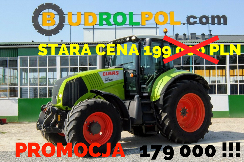 CLAAS Axion 810 Cebis 4x4 wheel tractor