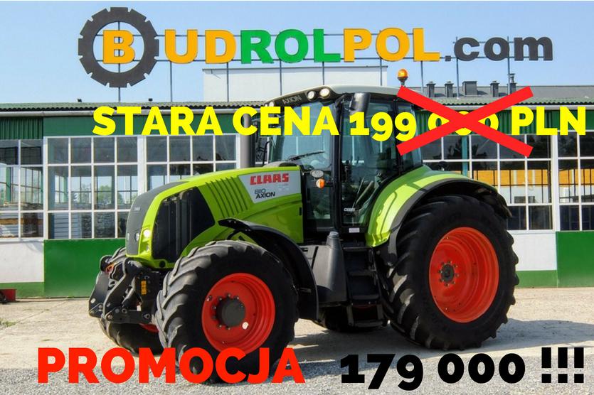 CLAAS Axion 810 Cebis 4x4 Radtraktor