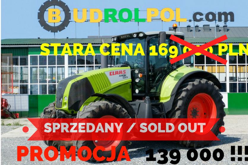 Ciągnik kołowy CLAAS Axion 820 / PROMOCJA !!!